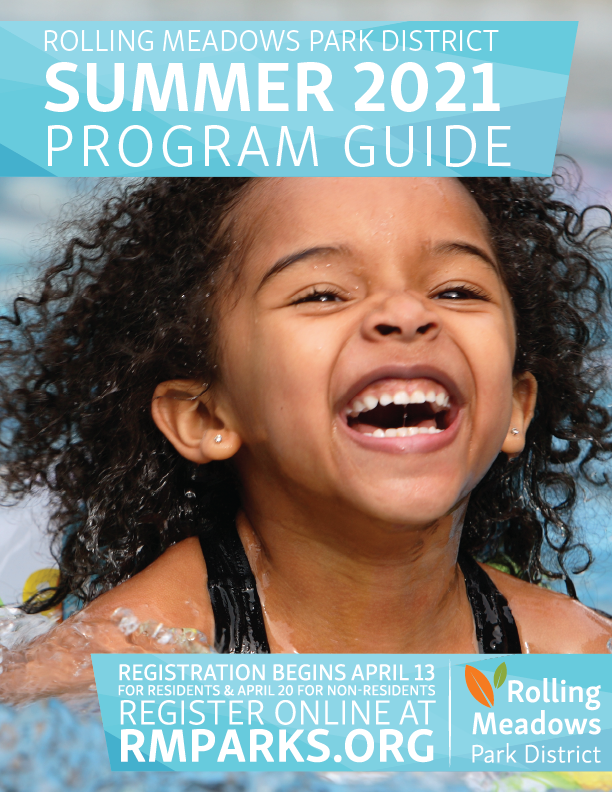 The Cover of the Rolling Meadows Park District 2021 Spring Program Guide